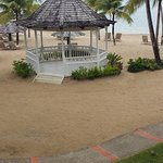 Beach gazebo where we renewed our wedding vows.