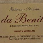 Trattoria da Benito resmi