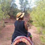 promenade à dos de mulet