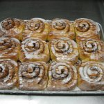 Cinnamon Bunns, made in limited quantities so you get them fresh!
