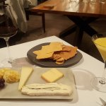 The optional cheese course - recommended!