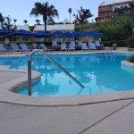 Morning pool photo