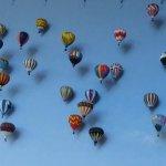 Wall of ballooons