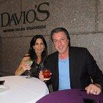 ROSARIO CASSATA AND CAROLYN AT DAVIO'S IN NEW YORK CITY