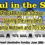 DJ Gary Carr Motown and 70s Soul outdoor party Sunday 25th June 4-8pm