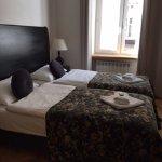 Bedroom #2 in 2 bedroom apartment -- 2 single beds
