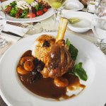 The food is great. I' ve tried Lamb shank eith plums and apricots, it was delicious.the staff is