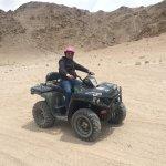 Activity on sand dunes