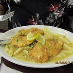 Tom's Chicken Francese (A little too much lemon)