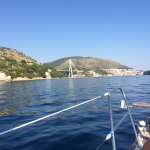 View of Dubrovnik on our return