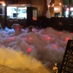 Foam party evening