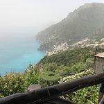 Your view from La Tagliata.