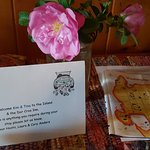Our honeymoon was made extra special by these folks. Fresh roses in our room everyday, even dog