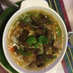 Beef Noodle Soup - lots of veggies; flavorful meat