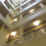 looking up from second floor