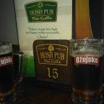 Croatian beer in an Irish pub!!