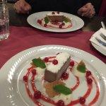 dessert style cheese cake au chocolat glacé