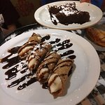 Dessert, try the Cannolis