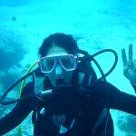 Liza Rodriguez the Artist diving !