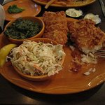 Fried cod