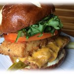 Double Stack Cajun Fish Sandwich, LUNCH menu at One Duke