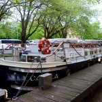 """Relaxing Canal Boat """"Cruise"""" for Dinner"""