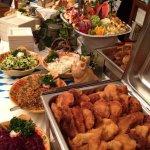 Old Europe's dinner buffet