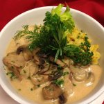 Old Europe's creamy veal goulash