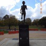 Statue of Betty Cuthbert - Famous Aussie sportswoman