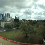 Stunning view of the area outside the MCG from the Stadium
