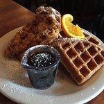 Screen Door Fried Chicken & Waffle