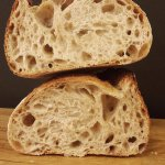 The mighty Country bread. Mostly white unsifted flour with a long slow fermentation up to 24h