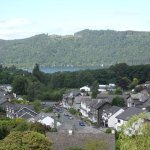 View from room to Lake Windermere