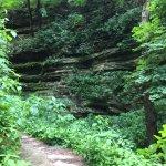 St Louis Canyon trail