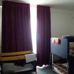Nella stessa camera: il letto a castello per le bimbe