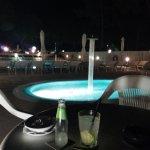 """il """"penultimo"""" Drink serale in piscina...."""