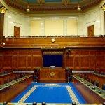 Northern Ireland Assembly Parliament Building legislative chamber