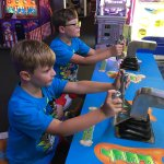 Our family had a great time playing games, miniature golf and riding the karts! We had to make a