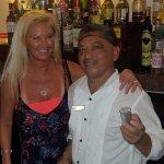 lobby bar with Debi & Felipe