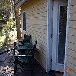 little deck outside