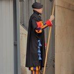 Swiss guard legionnaire at Vatican City