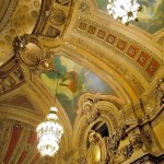 The Chicago Theatre - Allegorical paintings on the ceiling cove