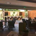 Herb Garden Brasserie in Spa at Ye Olde Bell