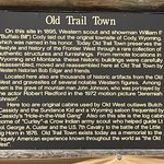 Old Trail Town Foto