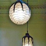 Shedd Aquarium - Octopus pendant lights