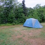 the less than inspiring campground