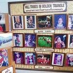 Exibición de imágenes de las tribus originarias