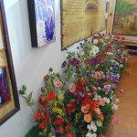Flores y cultivo de semillas de opio