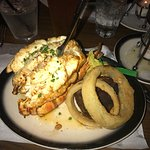 18 oz lobster tail with filet