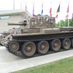 Centaur Tank at Pegasus Bridge memorial